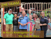 The MTM Team with Pastora Rosa and her husband Luis at their Kindergarten.