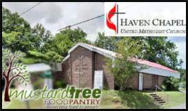 In 2015, the Food Pantry got a new home at Haven Chapel.