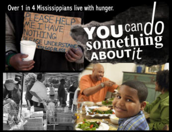 Call Rick Burton, MTM Director, if you would like to donate you time, food or money to help feed hungry families - 601-934-2575.
