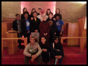 Navy Shipmates and students from Hope Scholarship & Meridian High helped out at Haven Chapel Dec. 2015.